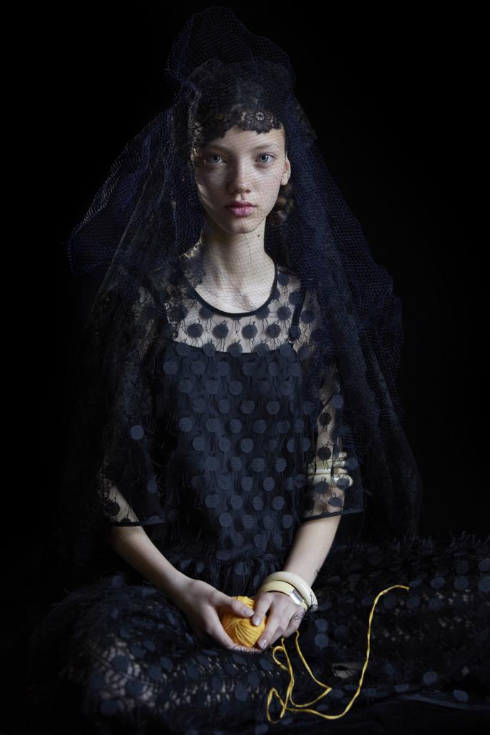 Reportatge fotogràfic a Vogue